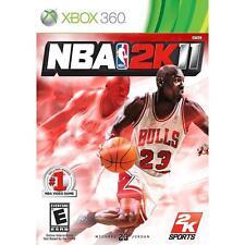 Pal version Microsoft Xbox 360 NBA 2K11