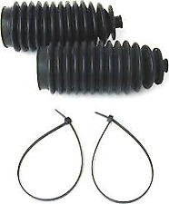 Jaguar Steering rack boot kit, 2 boots and clamps XJ6 XJS XJ12 75-92