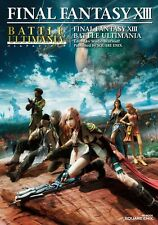 POSTER FINAL FANTASY 13 XIII LIGHTING SNOW VERSUS #11