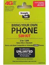Straight Talk Verizon 4G Lte 3G Bring Your Own Phone Kit