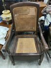 Beautiful Antique 19th Century Mahogany  Adult Commode potty Chair Chamber Pot