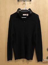 DKNY Jeans Mens Sweater Pullover - Large - Cotton Knit Mock Turtleneck