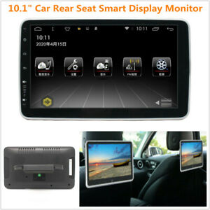 """10.1"""" Car Rear Seat Monitor Android 9.1 Headrest Smart Display MP5 Player Wifi"""