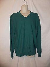 mens izod V-neck sweater L nwt $55  mediterranea green
