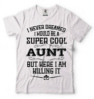 Aunt T-shirt Birthday Gift For Aunt Christmas Gift Proud Aunt Auntie T-shirt