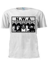 N.W.A The World's Most Hoodie Dangerous Hip Hop Group T Shirt Unisex Trendy M637
