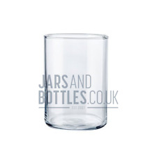 Bulk Set of 50cl (500ml) Empty Glass Juno candle holders - craft candles.