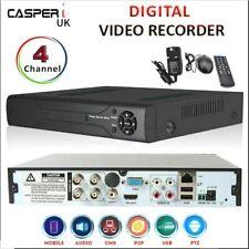 Casperi 4 Canales CCTV seguridad DVR Grabador de vídeo digital HD 1080P Móvil Vista