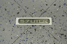 NOS 1993-96 Caprice LTZ Impala SS 5.7 Liter Fender Nameplate Emblem GM 10220508
