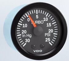 Turbo Boost Gauge VDO Vision 150-121 w/ Line Kit - SUPER PRICE FREE SHIPPING!!