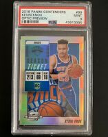 2018-19 Panini Contenders Optic Preview Kevin Knox Rc Rookie PSA 9 POP 3
