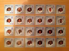 ESSO 2010 England World Cup Token Medals (Full Set of 24)
