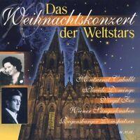 Weihnachtskonzert der Weltstars Placido Domingo, Monserrat Caballé/Monser.. [CD]