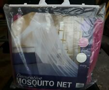 PINK DECORATIVE MOSQUITO/INSECT NET.