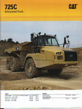 "Caterpillar ""725C"" Articulated Dump Truck Brochure Leaflet"