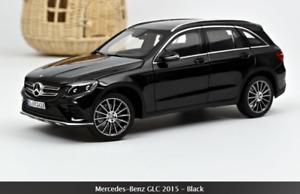 Mercedes GLC 2015 Nero Black Suv Fuoristrada Norev 1:18 🤩🤩