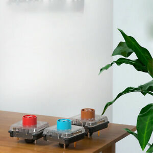 Mechanical Keyboard Switches Red Blue Brown Linear Tactile Click Low Profile