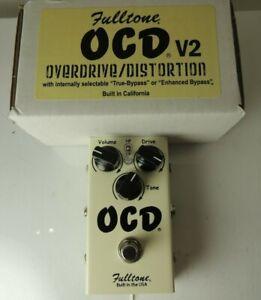 Fulltone OCD Obsessive Compulsive Drive Overdrive Effects Pedal Version 2 v2