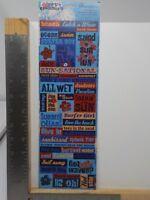 Reminisce Wave Crashers Beach Sticker Sheets
