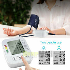 USB Rechargeable Automatic Upper Arm Digital Blood Pressure Monitor Pulse Meter