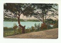 A GLIMPSE OF THE LAKES, DARTMOUTH, NOVA SCOTIA, CANADA VINTAGE POSTCARD