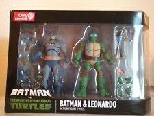 New listing Dc Collectibles Batman vs Teenage Mutant Ninja Turtles Tmnt Batman Leonardo pack