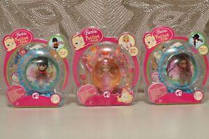 BARBIE PEEK A BOO-BARBIE PETITES CLUB #6 #44 #47 mini barbies great for diorama