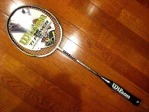 Wilson TI Power Badminton Racquet - Brand New!