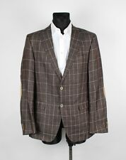 Tommy Hilfiger Tailored Mizner-E Men Linen Jacket Blazer Size 98, Genuine
