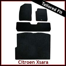 CITROEN XSARA PICASSO 2000-2010 Tailored Carpet Car & Boot Mats BLACK