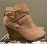 Gently Used Shoedazzle Rose Booties Size 11
