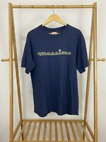 VTG Mossimo Spellout 90s Skate Single Stitch Short Sleeve T-Shirt Size L USA