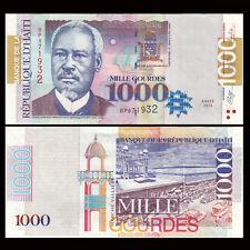 Haiti 1000 (1,000) Gourdes, 2014, P-278 NEW, UNC
