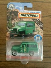2018 MATTEL MATCHBOX MOVING PARTS, 62 JEEP WILLYS WAGON,