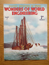 Wonders of World Engineering Magazine # 7 April 1937 Television Firefighters