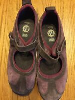 Merrell J75038 Womens Circuit MJ Chocolate/Cordovan Mary Jane Ortholite Size 7.5