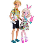Ever After High Carnival Date Doll 2 Pac - Bunny Blanc & Alistair Wonderland