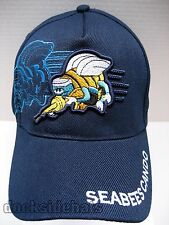 U.S.NAVY SEABEES VETERAN Cap/Hat Blue Adjustable New Military**Free Shipping**