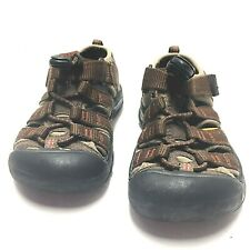 Keen Toddler Boys Waterproof Sport Sandals Shoes Brown Size 9 Us PreOwned