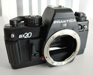 Praktica BX20 35mm SLR film Camera body made in Germany by Carl Zeiss Jena