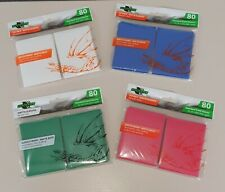 80x Kartenhüllen für Sammelkarten Magic YugiOh Pokemon versch. Farben - Matt