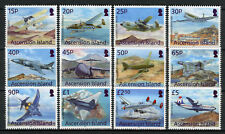 Ascension Island 2013 MNH Aircraft Definitives Lockheed 12v Set Aviation Stamps