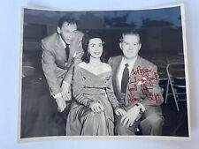 Frank Sinatra Photograph w/ 2 Celebrity Autographs - Cannot Identify Autographs