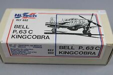 ZF1210 Hi Tech Model 1/72 maquette avion 002 Bell P-63C Kingcobra