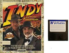 "INDIANA JONES & THE LAST CRUSADE floppy disc 3,5"" Commodore Amiga backup game"