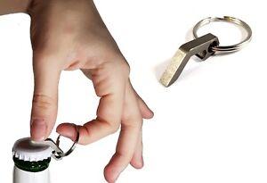 Stainless Steel Mini Bottle Opener Keyring