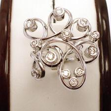SPECIALl! GORGEOUS,14K WHITE GOLD 1CT BEZEL SET DIAMOND RING