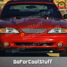 For Ford Mustang 1994 95 1996 1997 1998 Upper Billet Grille Insert W/O Logo Cut