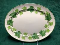 Franciscan green ivy oval serving platter Gladding Mc bean California