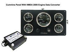 **Perkins Marine Instrument Panel With NMEA 2000 Engine Data Converter Package